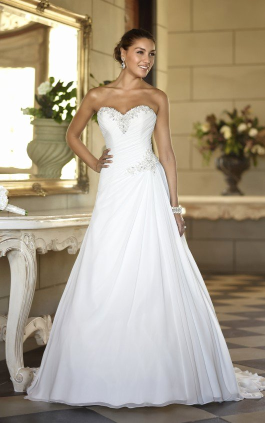 Simple Wedding Dress Patterns Fresh Simple Elegant Wedding Dresses with Enthralling Patterns