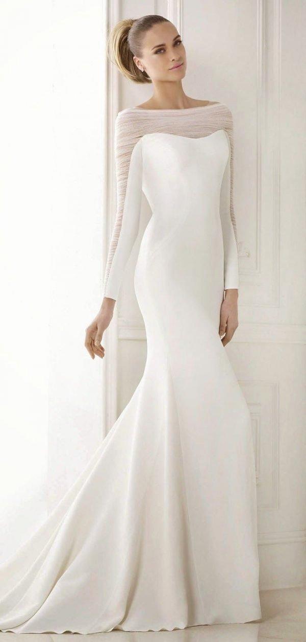 Simple Wedding Dress Patterns Unique Simple Elegant Wedding Dresses with Enthralling Patterns