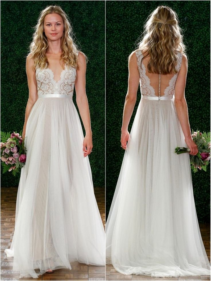 Simple Wedding Dress Patterns Unique Vestido De Novia 2015 See Through Wedding Dress Simple