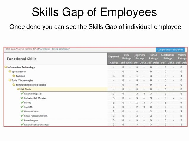 Skills Gap Analysis Template Unique Skills Gap Analysis Using Skills Profiler From Its Your Skills