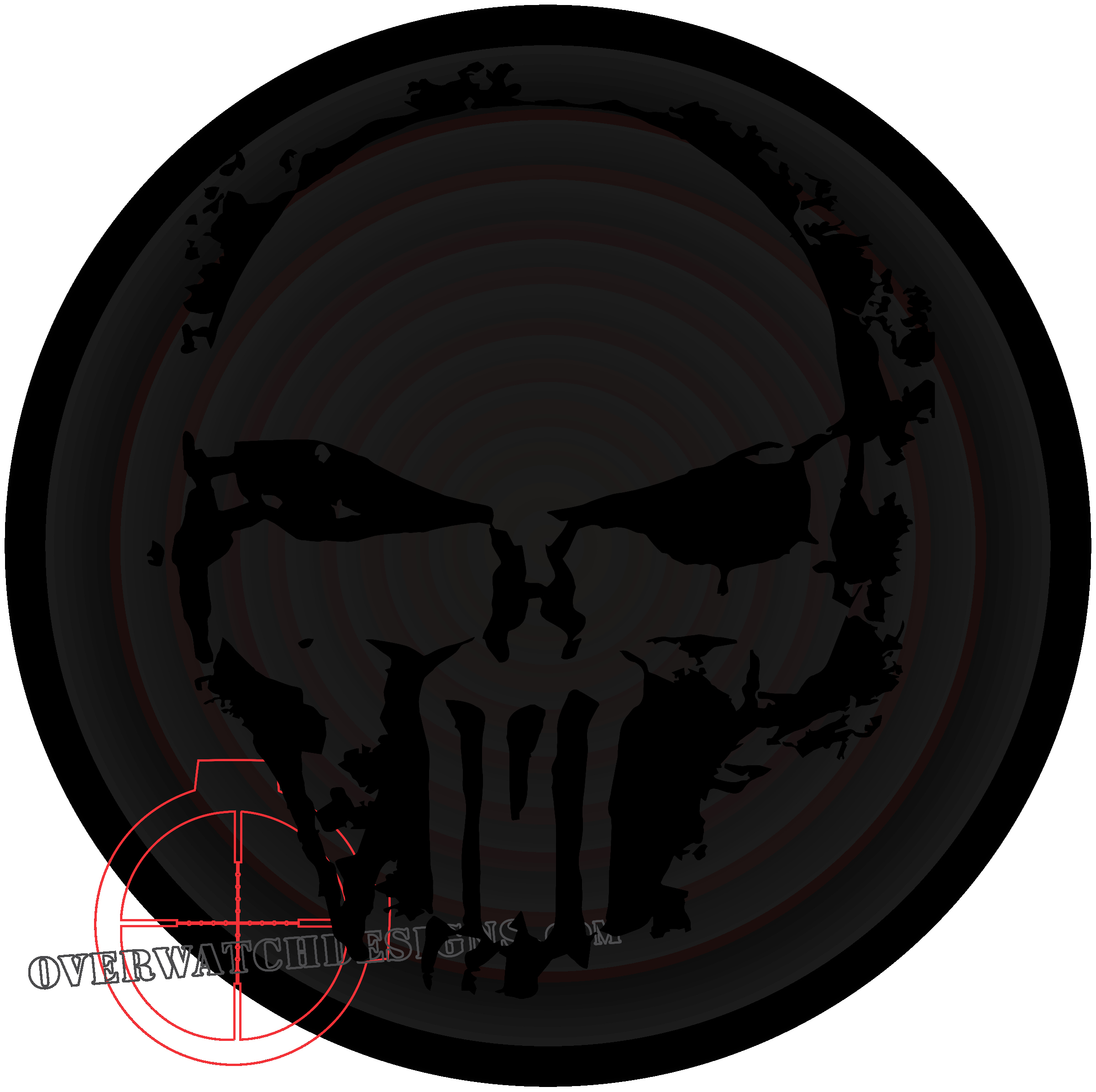 Skull Stencil for Spray Paint Beautiful Punisher Skull Spray Paint Edition Overwatch Designs