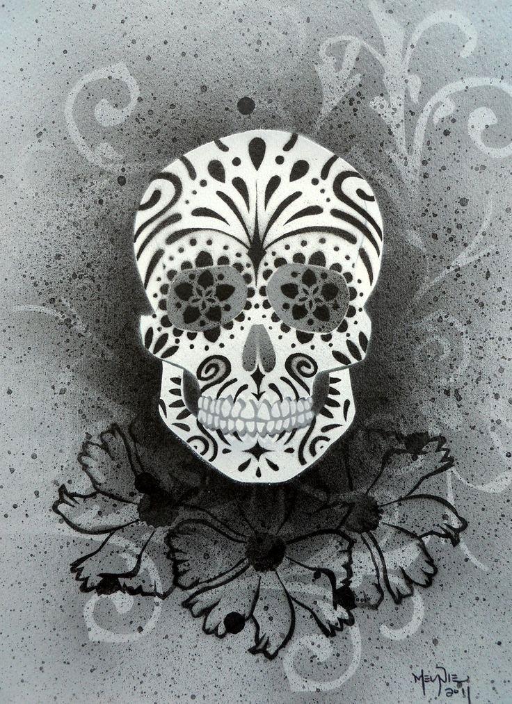 Skull Stencil for Spray Paint Elegant Best 25 Skull Stencil Ideas On Pinterest
