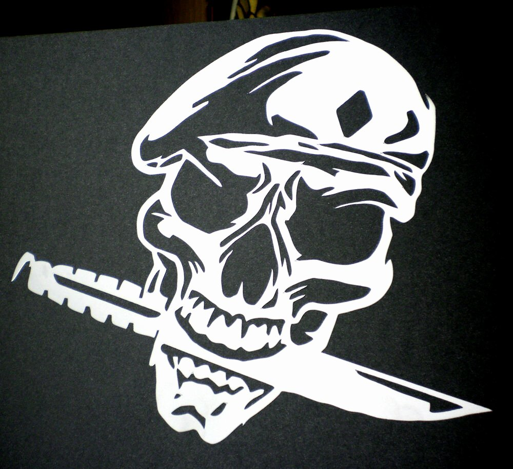 Skull Stencil for Spray Paint Inspirational High Detail Airbrush Stencil Army Skull Four Free Uk