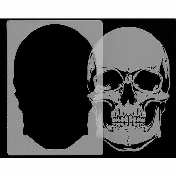 Skull Stencil for Spray Paint New Skull Head Stencil 1