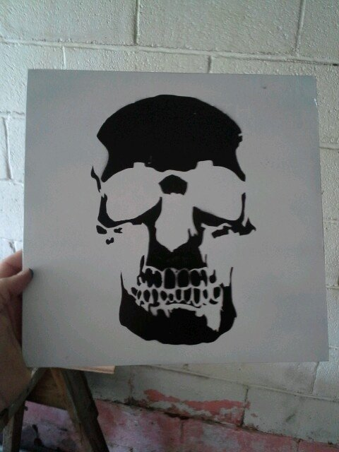 Skull Stencil for Spray Paint Unique 61 Best Spray Paint Images On Pinterest