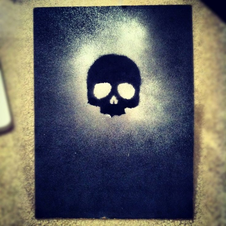 Skull Stencils for Spray Painting Awesome 17 Best Images About Stencil On Pinterest