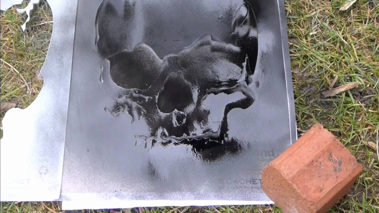 Skull Stencils for Spray Painting Awesome Spray Paint Stencil Skul