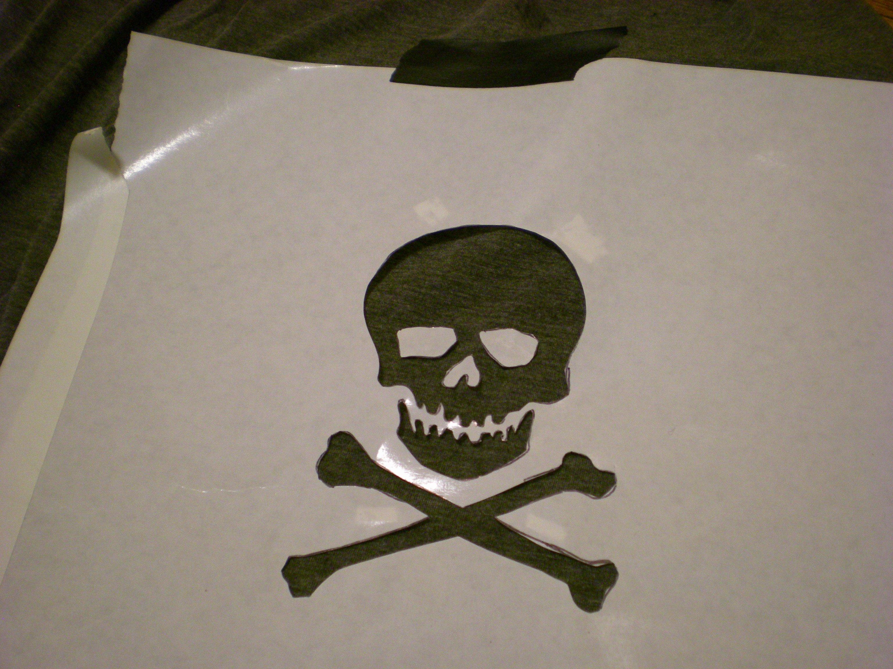 Skull Stencils for Spray Painting Best Of Ilovetocreate Blog 4 Ways to Spray