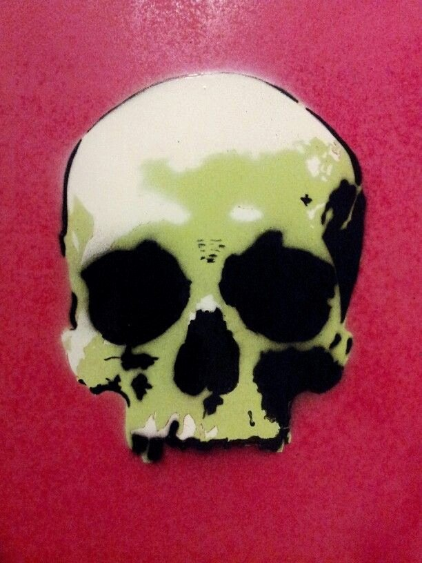 Skull Stencils for Spray Painting Inspirational Skull Stencil