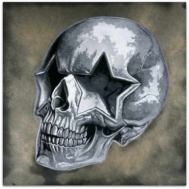 Skull Stencils for Spray Painting Luxury BÄst Prints & Ron English Lazarides