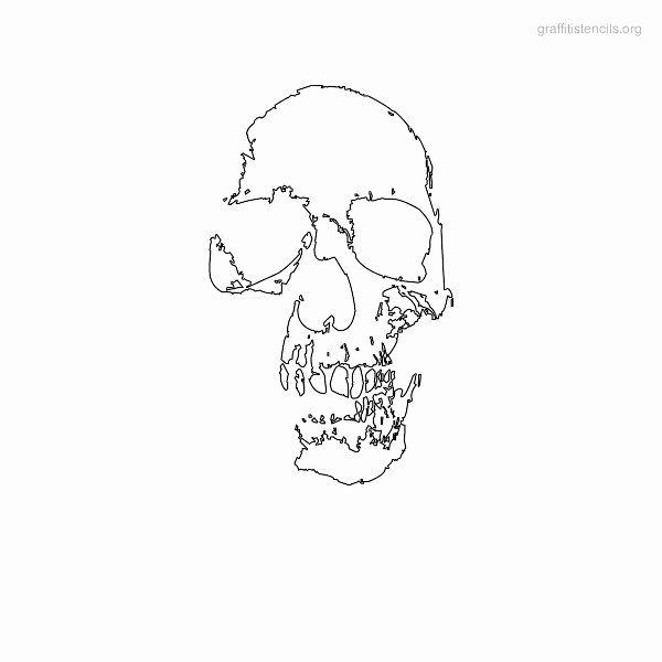 Skull Stencils for Spray Painting Luxury Best 20 Skull Stencil Ideas On Pinterest