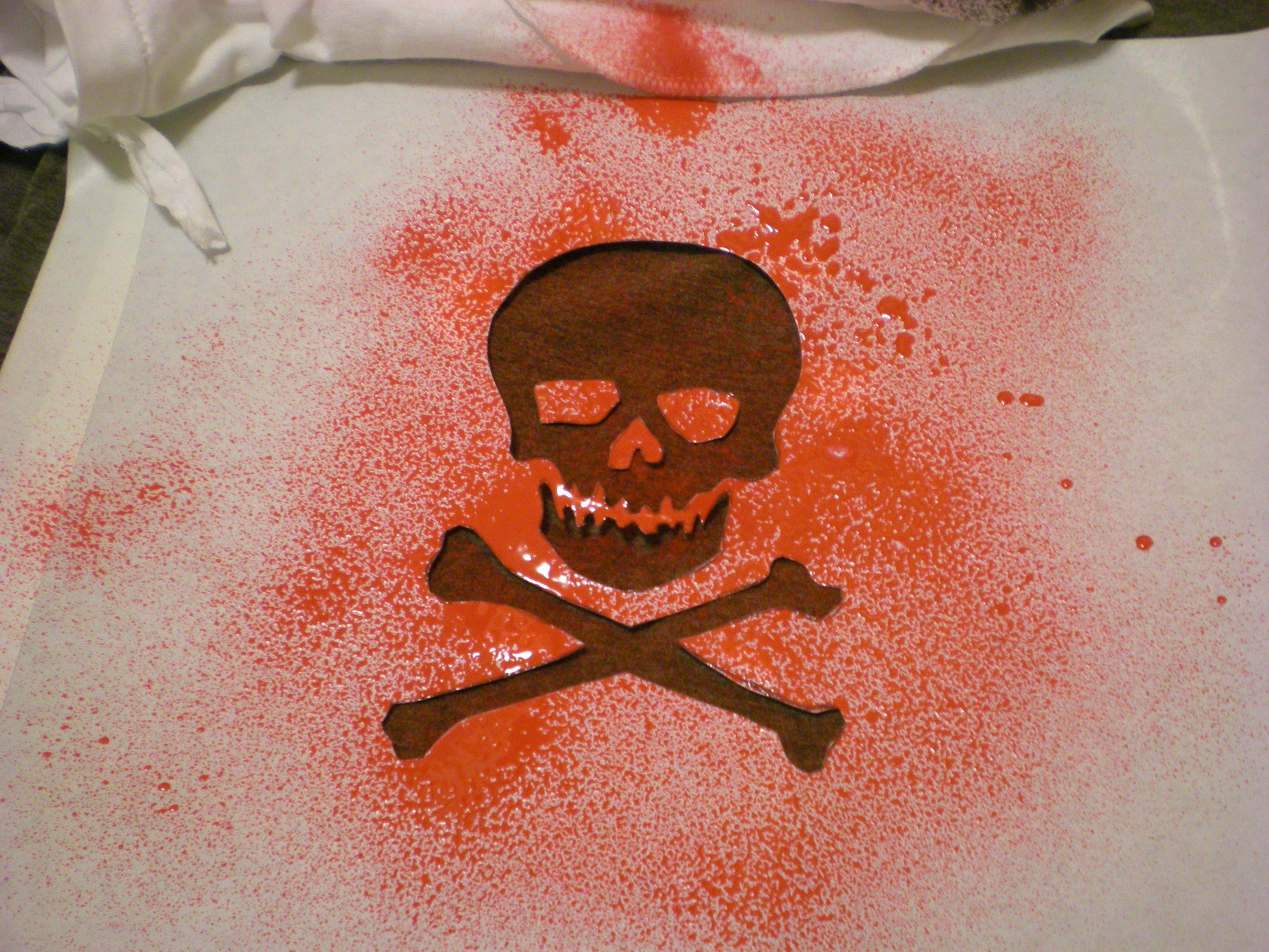 Skull Stencils for Spray Painting Luxury Ilovetocreate Blog 4 Ways to Spray