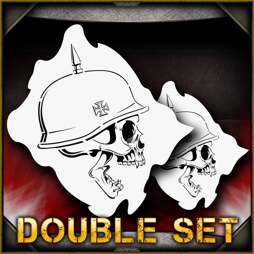 Skull Stencils for Spray Painting New Skull 33 B Airbrush Stencil Template Paint Airsick