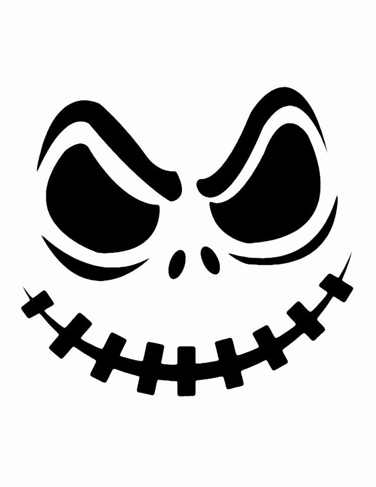 Skull Stencils Free Printable Beautiful Printable Pumpkin Carving Cutouts for Halloween