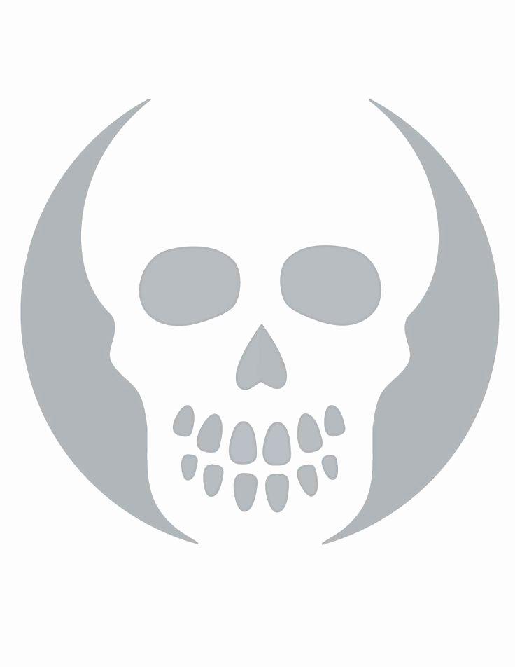 Skull Stencils Free Printable Elegant Printable Skull Stencil Coolest Free Printables