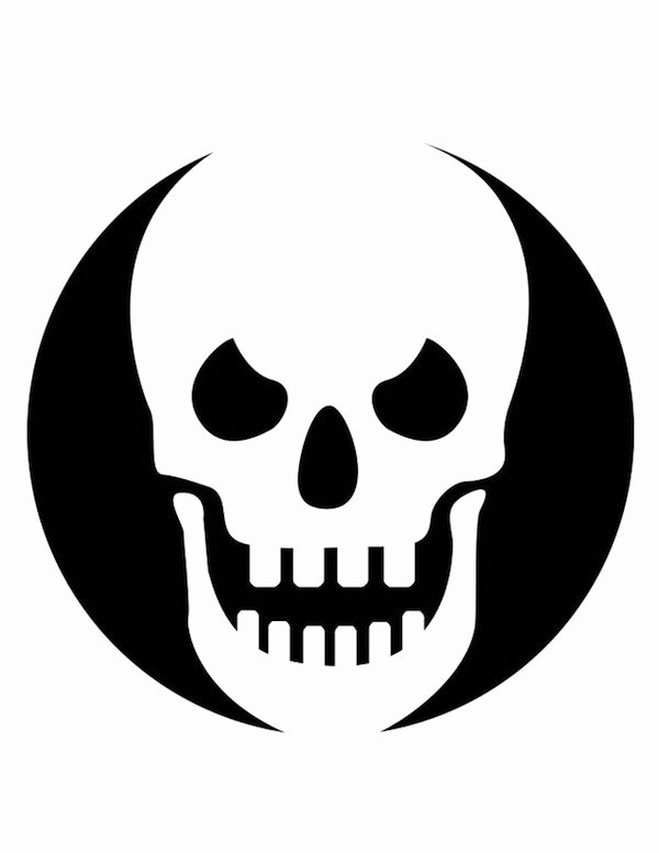 Skull Stencils Free Printable Fresh Pumpkin Carving Templates Galore for Your Best Jack O
