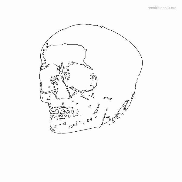 Skull Stencils Free Printable Fresh Skull Graffiti Stencils to Print