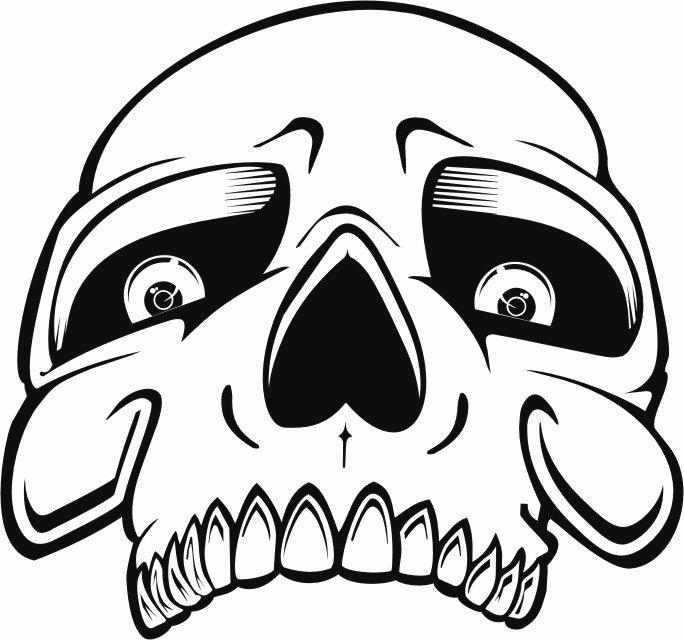 Skull Stencils Free Printable New Stencils Free Drawing at Getdrawings