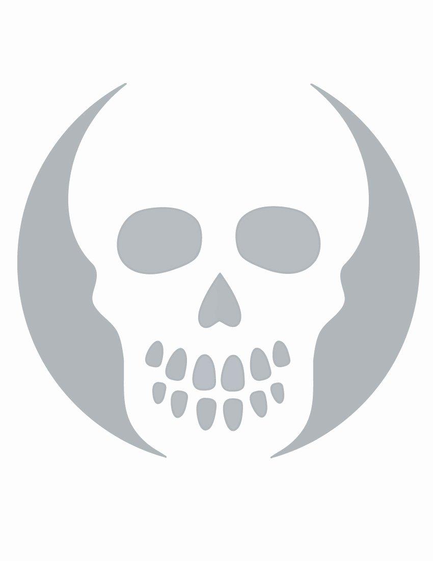 Skull Stencils Free Printable Unique Eeyore Stencil Cake Ideas and Designs
