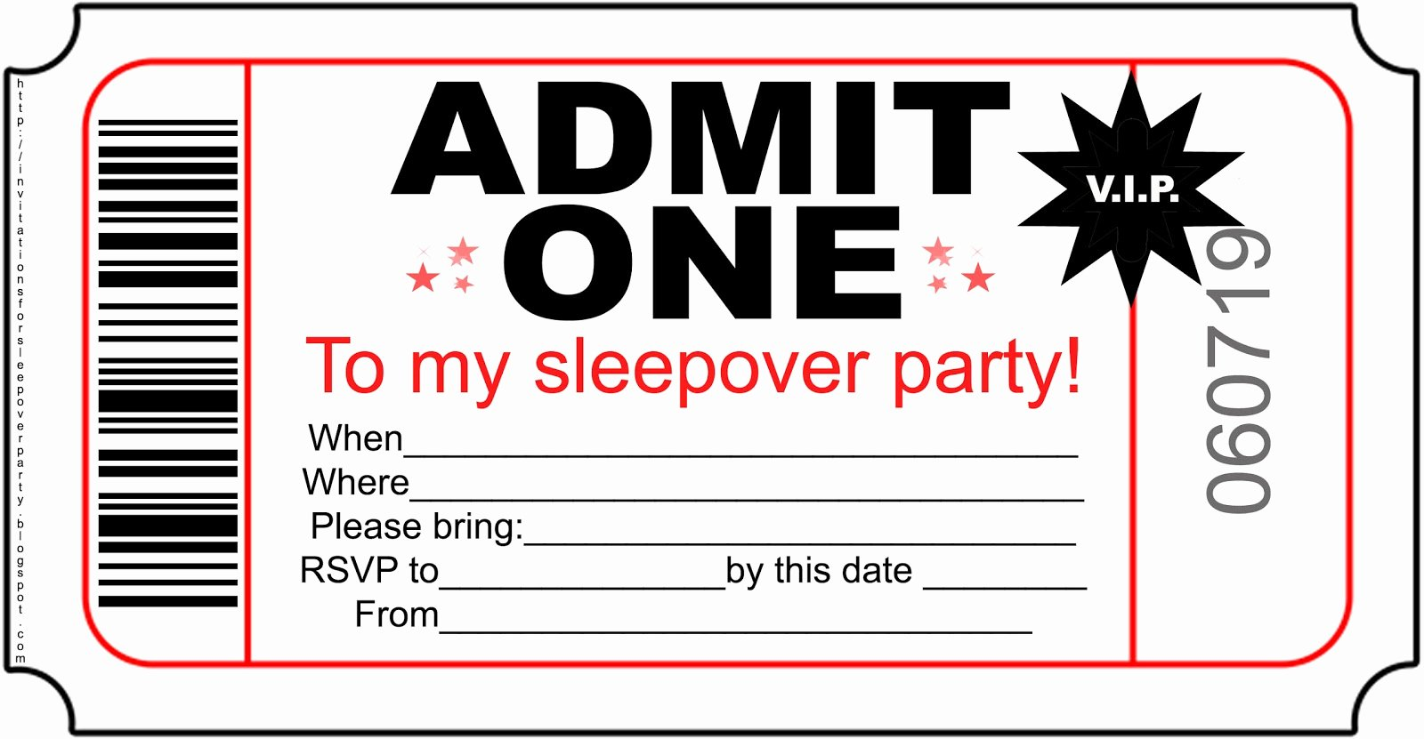 Slumber Party Invitation Template Elegant Invitations for Sleepover Party