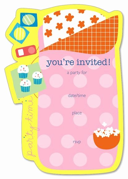 Slumber Party Invitation Template New Party Invitation Templates Invitations and Slumber Party