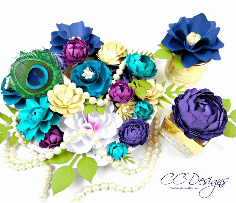Small Paper Flower Templates Lovely Small Paper Flower Templates Svg Flower Cut Files Paper