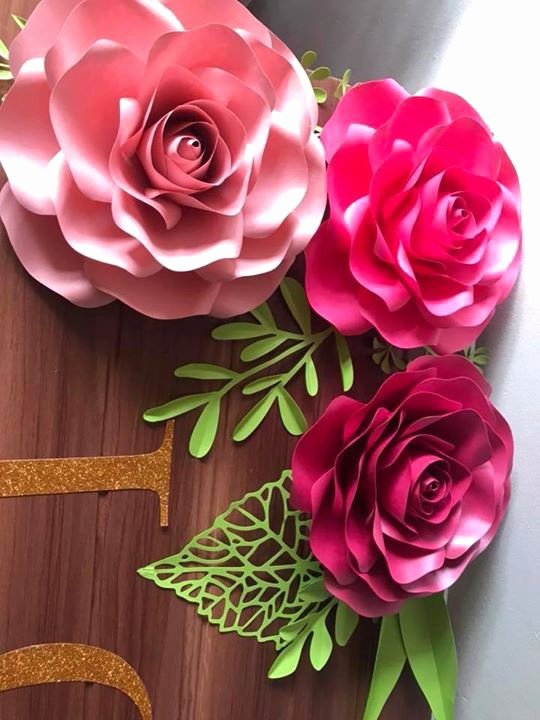 Small Paper Flower Templates New Here's the Crafty Sagittarius Small Rose Paper Flower