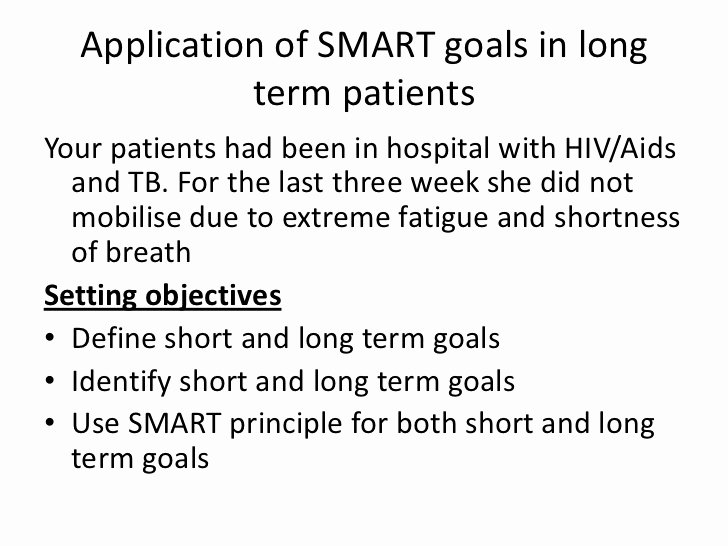Smart Goals for Nurses Beautiful Goal Setting In Clinical Practice