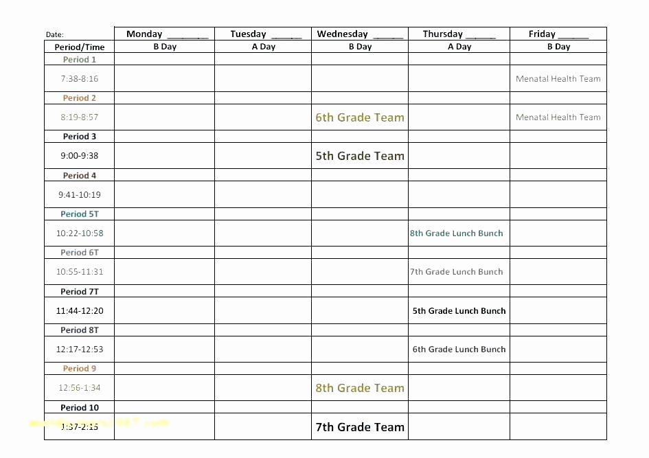 Snack Schedule Template for Sports Elegant 12 13 soccer Snack Schedule Template