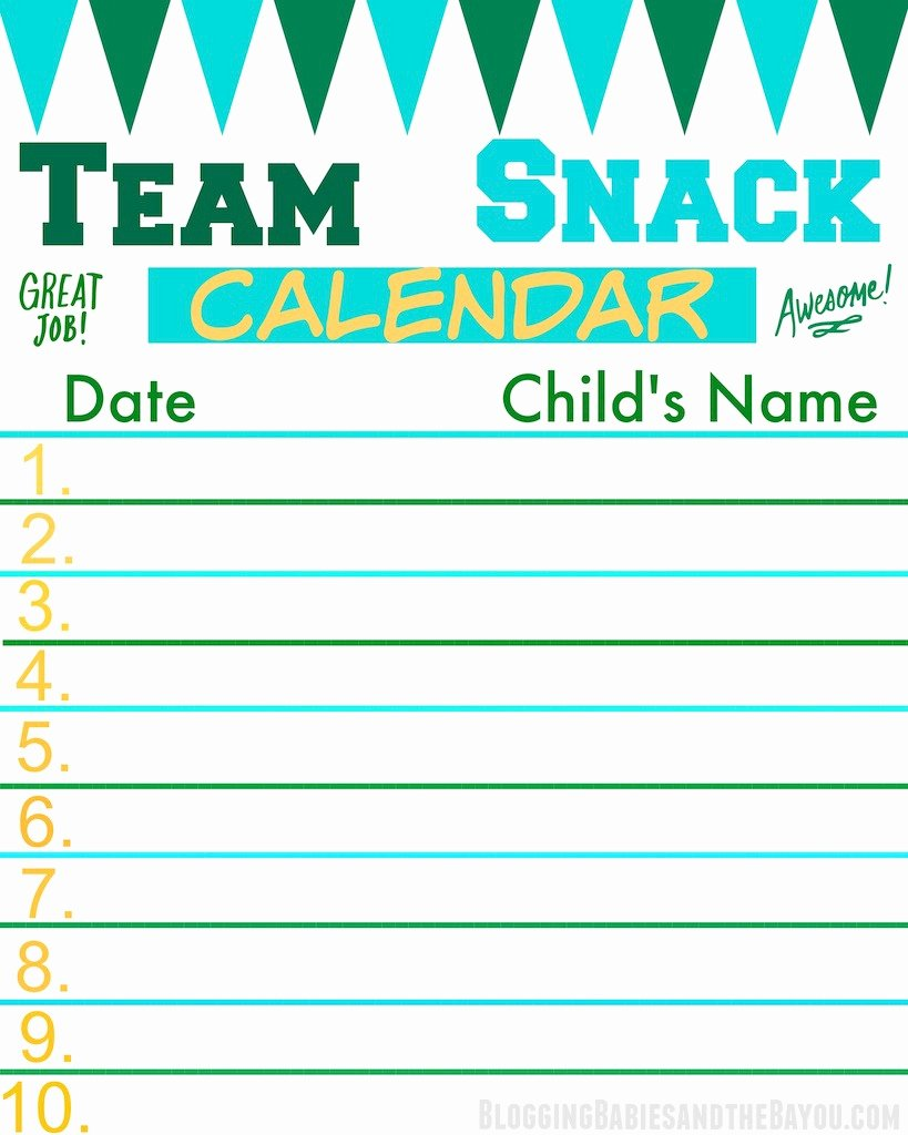 Snack Schedule Template for Sports New Score Big and F the Field with Fruit Kabobs Recipe