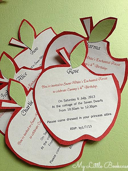 Snow White Invitation Template Fresh Best 25 Snow White Invitations Ideas On Pinterest