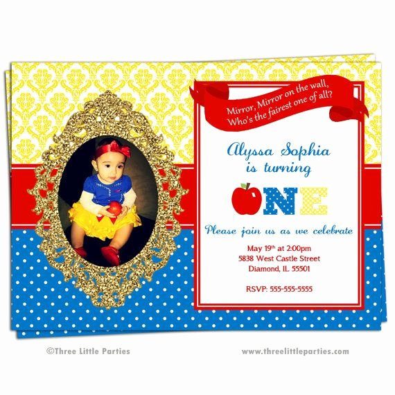 Snow White Invitation Template Inspirational 25 Best Ideas About Snow White Invitations On Pinterest