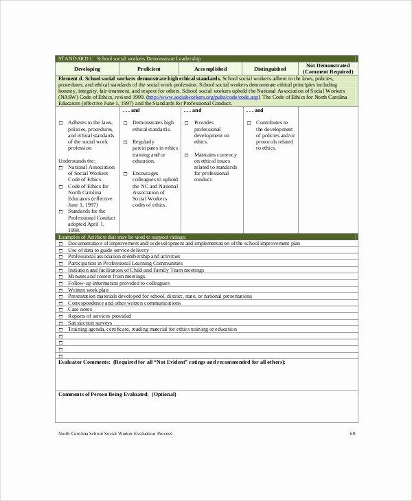 Social Work assessment form Lovely social Work assessment form 7 Examples In Word Pdf