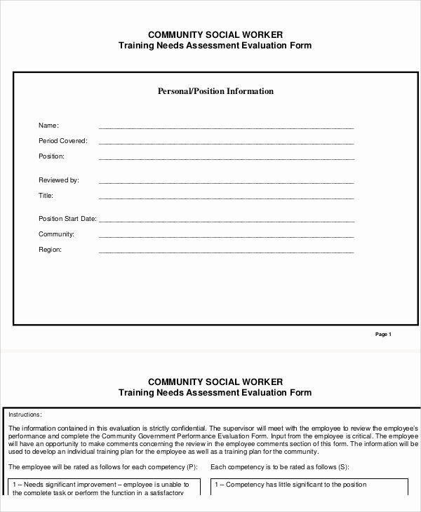 Social Work assessment form New social Work assessment form 7 Examples In Word Pdf