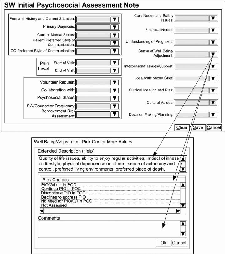 Social Work assessment form New social Work Initial Psychosocial assessment Note