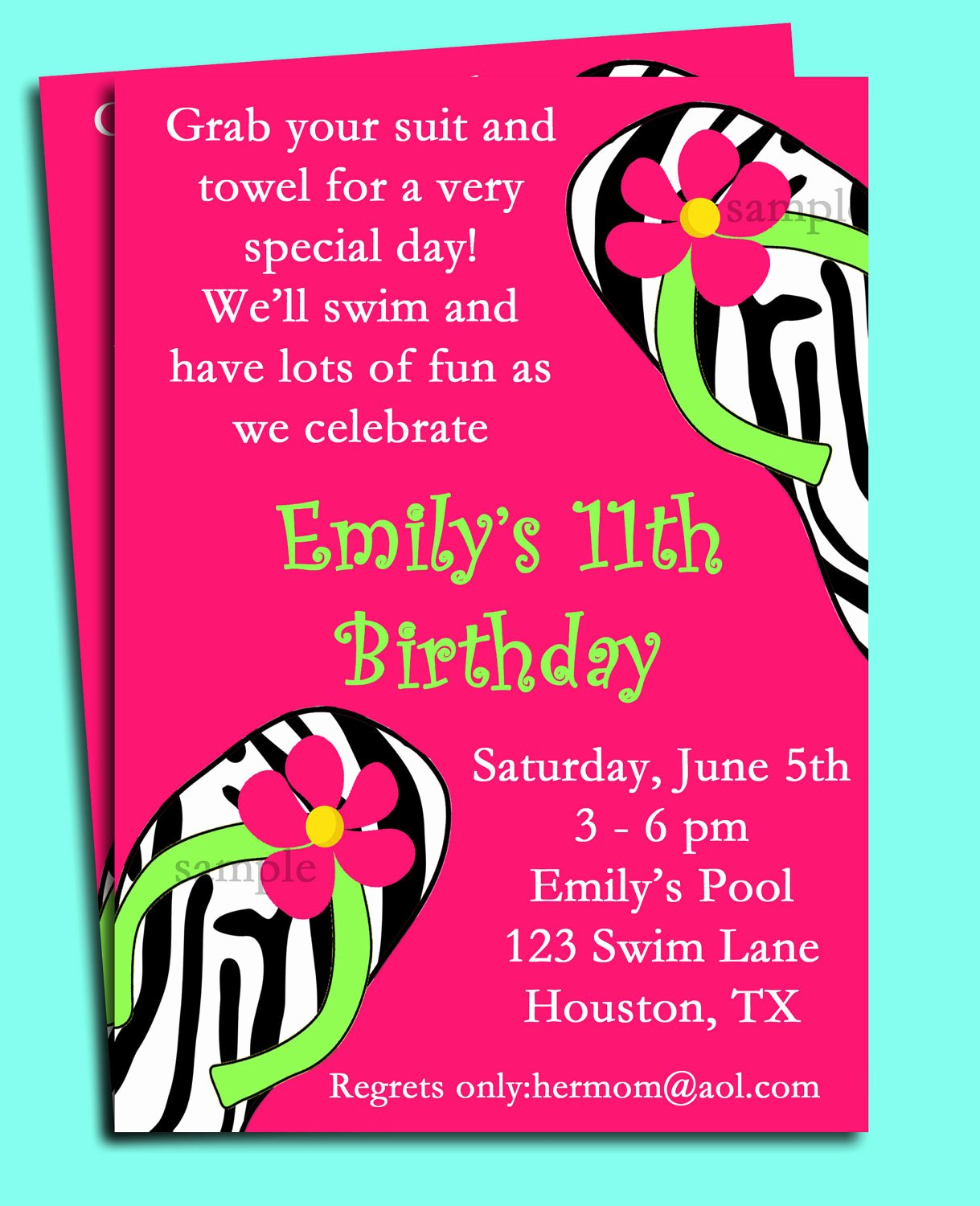 Spa Party Invitation Wording Luxury Pool Party Invitation Spa Party Invitation Swim Party