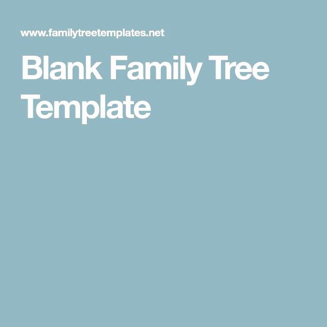Spanish Family Tree Template Fresh 25 Unique Blank Family Tree Template Ideas On Pinterest
