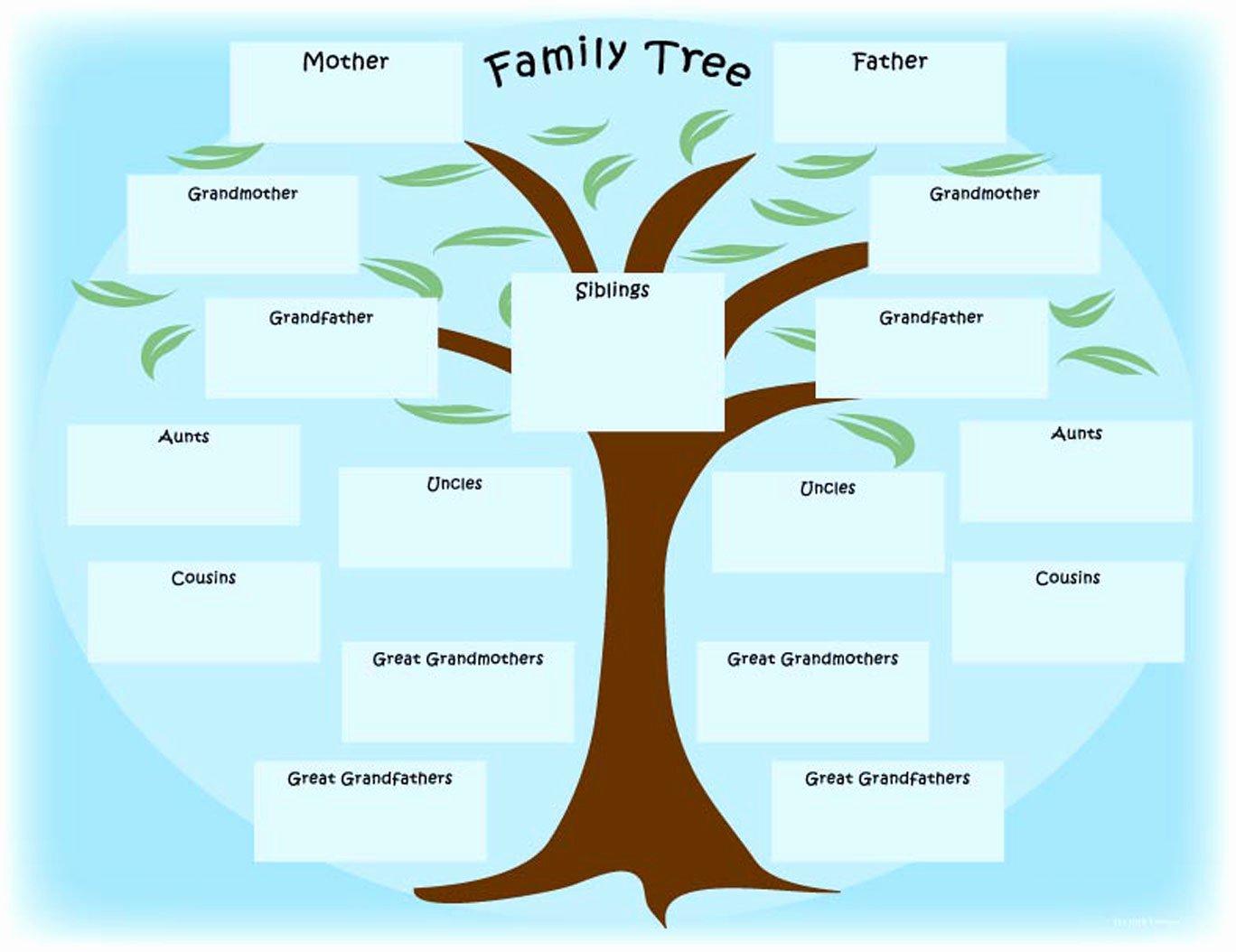Spanish Family Tree Template Inspirational Family Tree S – Weneedfun