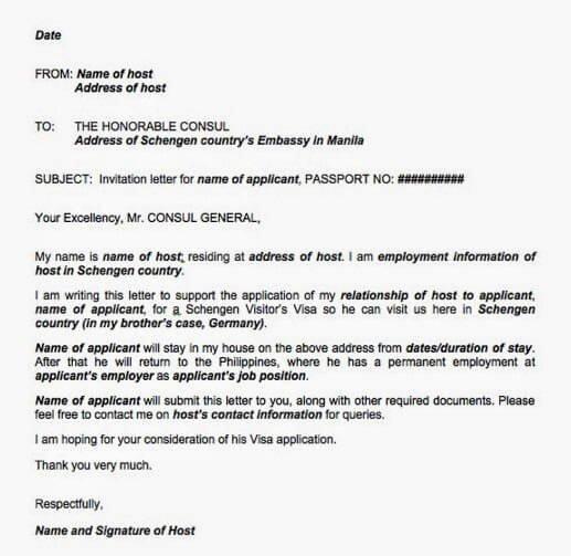Sponsorship Letter for Visa Lovely Proof Of Ac Modation for Visa Application Schengen