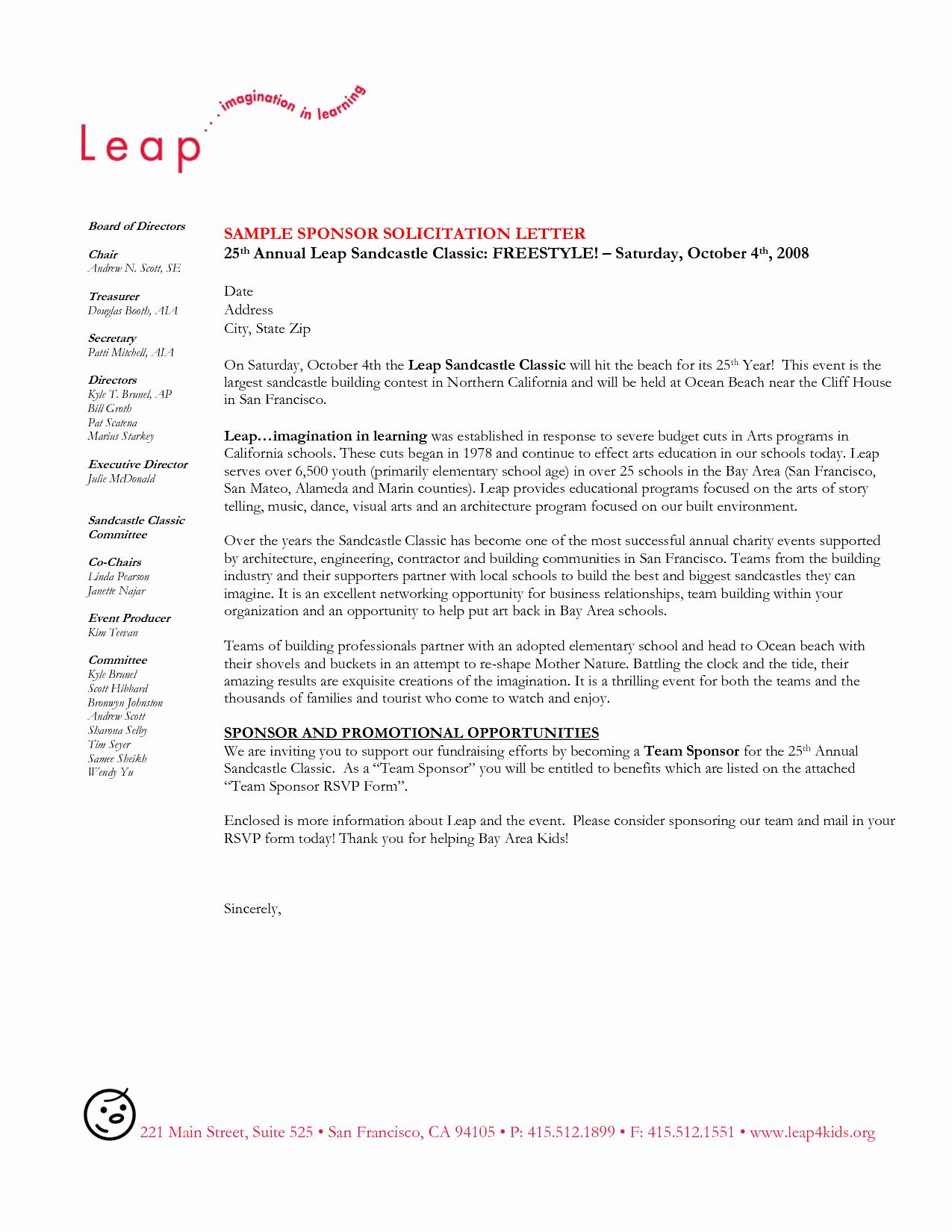 Sponsorship Letter for Visa Luxury See A Sample Sponsor Letter for Visa
