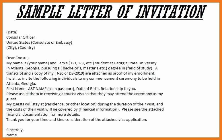 Sponsorship Letter for Visa Unique 5 6 Sponsorship Letter for Uk Visa