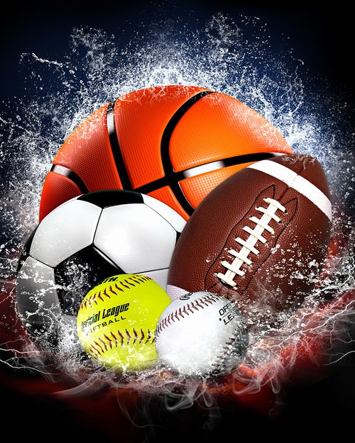 Sports Poster Templates Free Beautiful Free 16x20 Sports Background Splash Collection