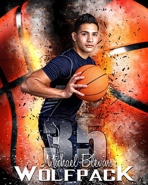 Sports Poster Templates Free Elegant Sports Poster Template for Basketball Basketball