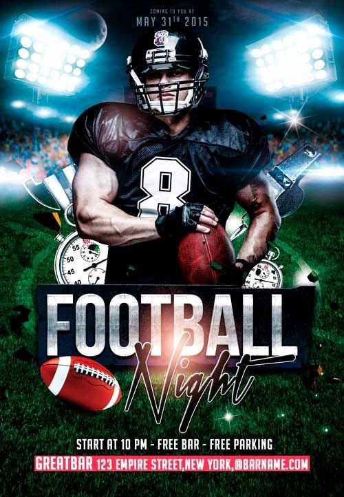 Sports Poster Templates Free New 29 Best Images About Poster On Pinterest