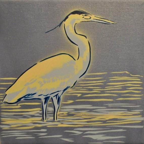 Spray Paint Stencil Designs Fresh Blue Heron Spray Paint Stencil