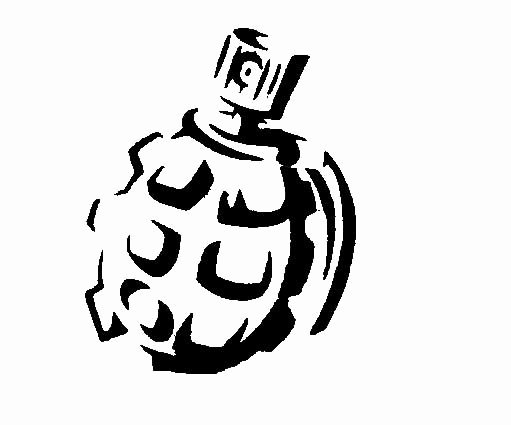 Spray Paint Stencil Designs Inspirational Spray Paint Grenade