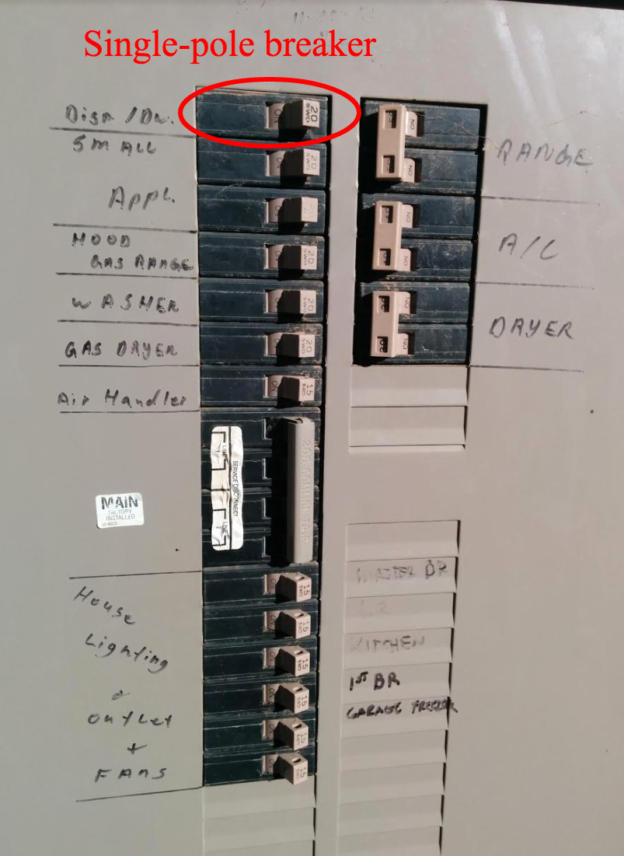 Square D Panel Schedule Luxury What's the Difference Between A Single and A Double Pole