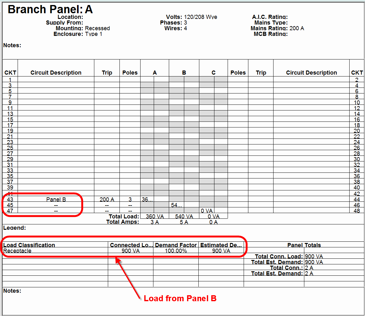 Square D Panel Schedule New Circuit Breaker Panel Schedule Template to Pin On