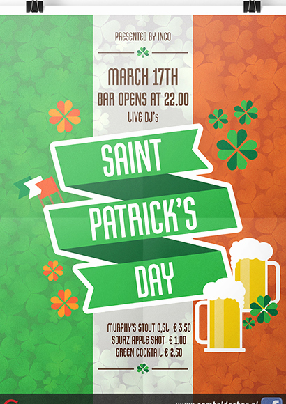 St Patrick Day Posters Beautiful Portfolio Nina Willebois Designs