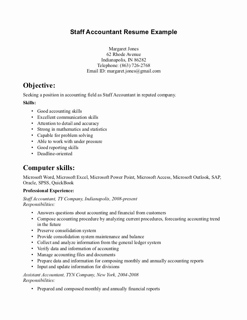 Staff Accountant Resume Summary Best Of Accountant Lamp Picture มิถุนายน 2013